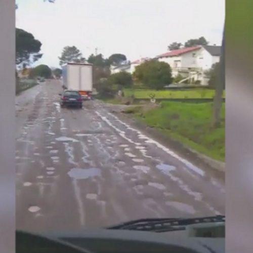 IP justifica demora no arranjo da Estrada da Beira com o mau tempo