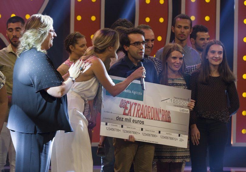 """Jovem oliveirense, André Salgado, venceu segunda temporada do programa """"Os Extraordinários"""""""