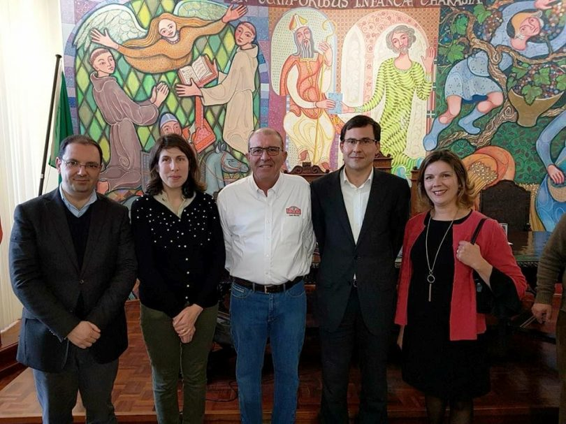 Carlos Bica foi homenageado em Arganil