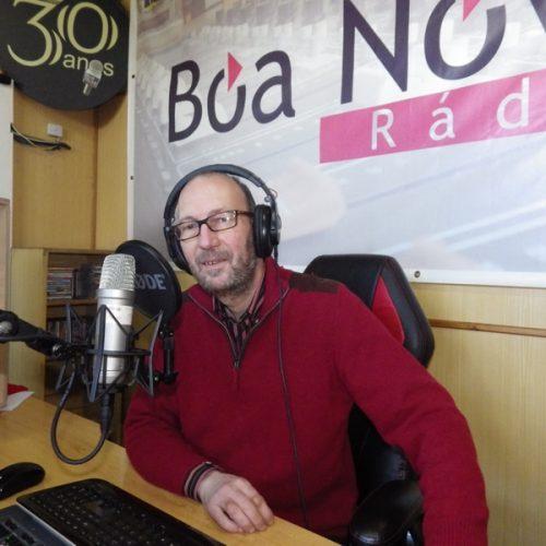 Jorge Ramos nas Manhãs da Rádio Boa Nova