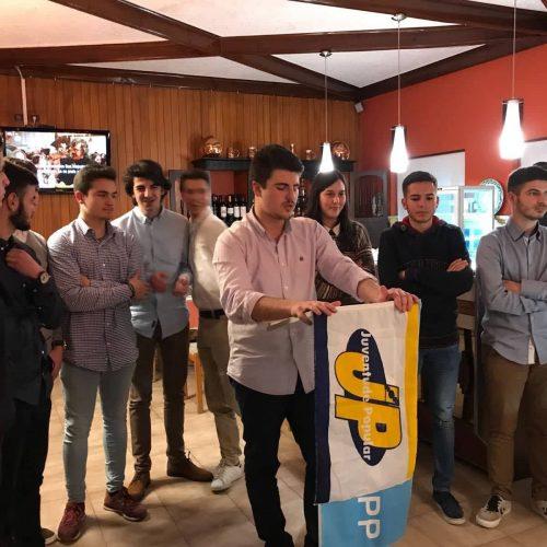 Juventude Popular apresentou novos órgãos na tomada de posse