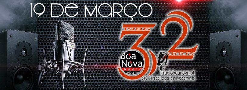 """Rádio Boa Nova comemora 32º aniversário com emissão especial de """"porta aberta"""""""