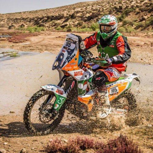 Mário Patrãolidera Morocco Desert Challenge