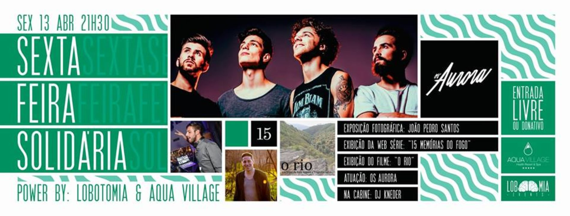 Aqua Village promove concerto solidário de apoio às vítimas dos fogos