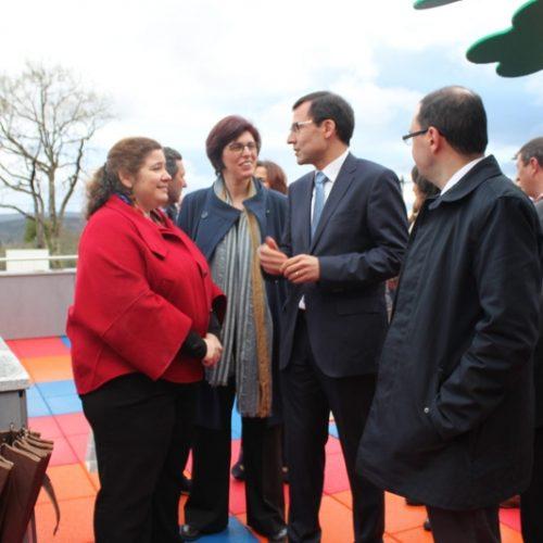 Secretária de Estado Adjunta e da Educação inaugurou EB 1 e Jardim de Infância do Sarzedo