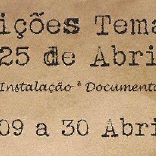 Município de Oliveira do Hospital promove exposições temáticas para assinalar o 25 de Abril