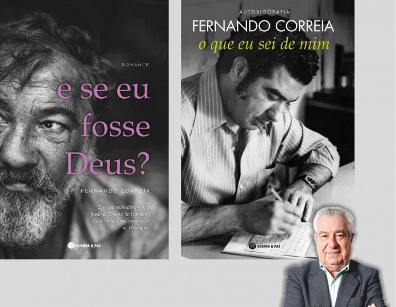 Fernando Correia apresenta novos livros em Oliveira do Hospital