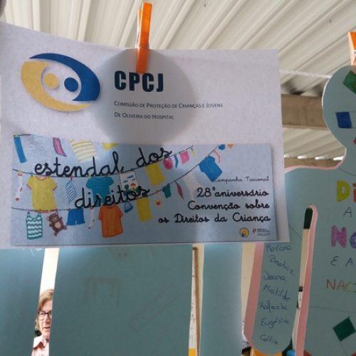 """""""Estendal dos Direitos"""" sensibiliza para os direitos das crianças e jovens em Oliveira do Hospital"""