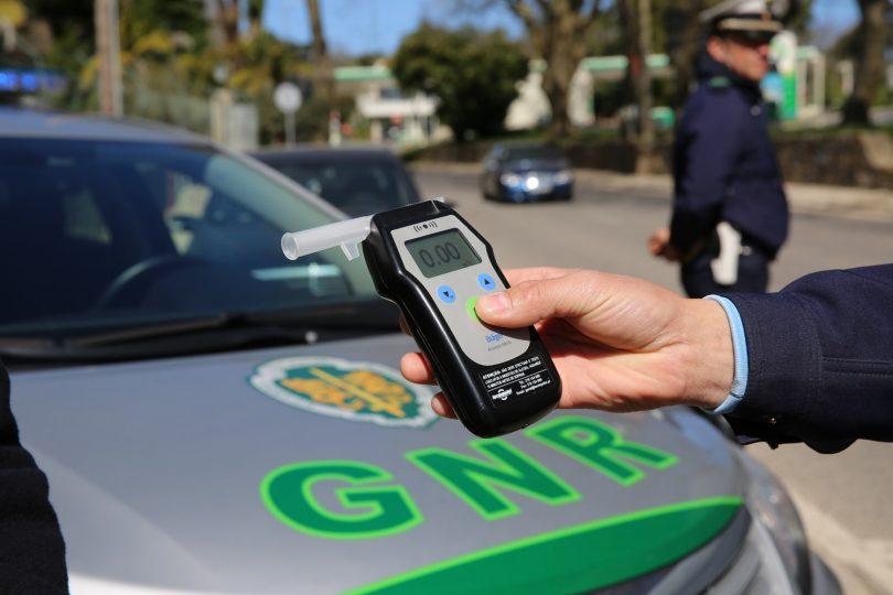 Operação Baco: GNR intensifica fiscalização da condução sob influência de álcool