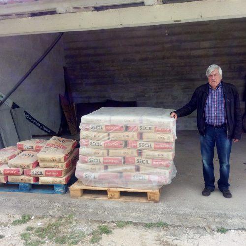 Empresa Secil doa material para reconstrução de casas em Góis