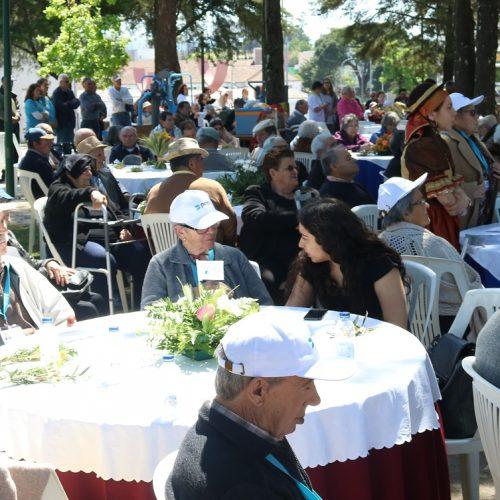 """""""Primavera Sénior – Encontro Concelhio de Idosos"""" junta cerca de 450 idosos no Parque do Mandanelho"""