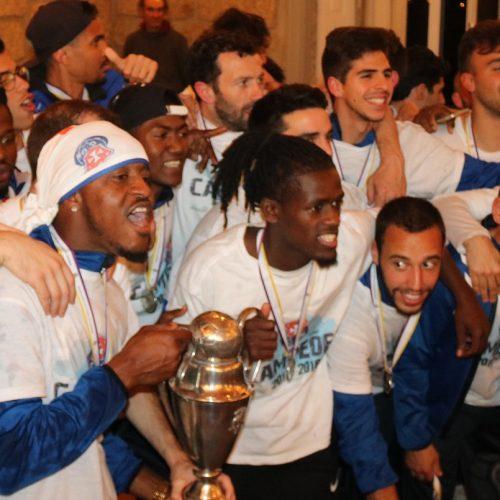 FCOH festejou conquista do título das distritais da AFC. Veja aqui os melhores momentos