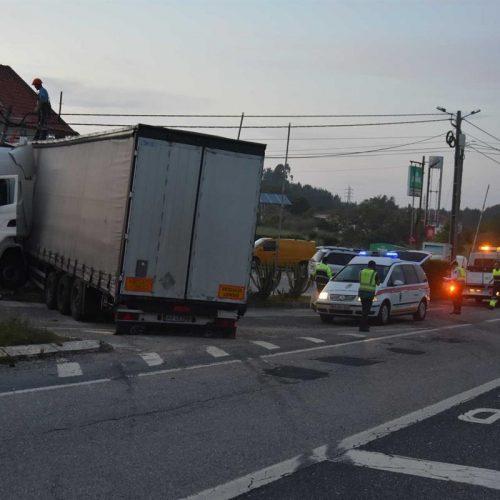 Acidente com camião fez dois mortos em Pombal