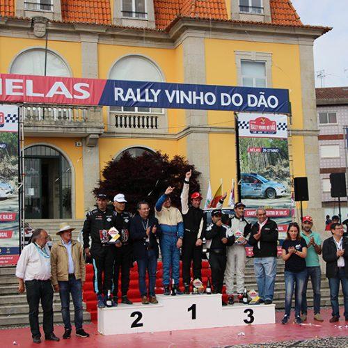 Rally Vinho do Dão: dupla Carlos Fernandes e Bruno Abreu sagrou-se campeã
