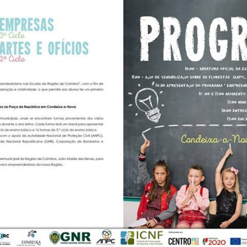 CIM da REgião de Coimbra promove Expo | Empresas, Artes e Ofícios em Condeixa-a-Nova