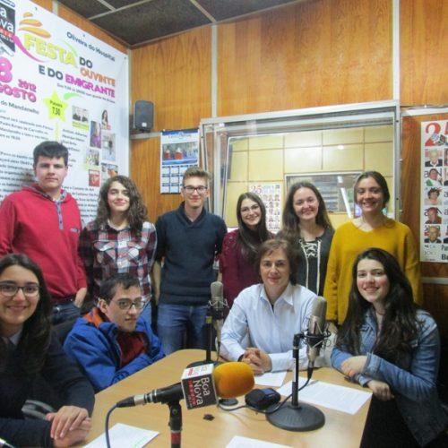 """""""A Escola e o Meio""""na Rádio Boa Nova."""