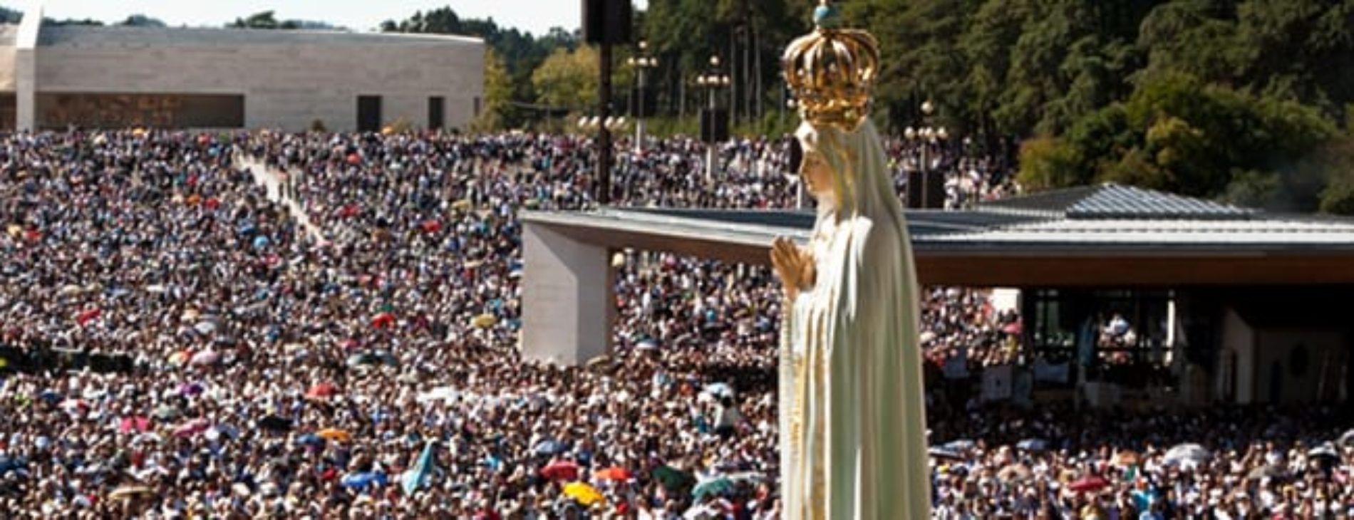 Termina hoje a peregrinação internacional ao Santuário de Fátima