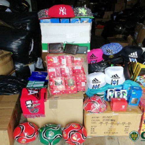 GNR apreende artigos contrafeitos e identifica três suspeitos em Trancoso