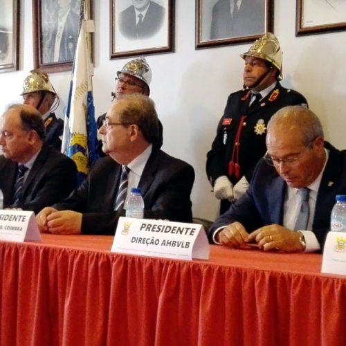 """Preocupação com """"urgências"""" marca 72º aniversário dos Bombeiros de Lagares da Beira"""