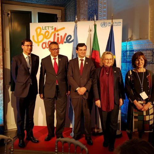 Município de Arganil celebrou protocolo com Organização Mundial de Saúde