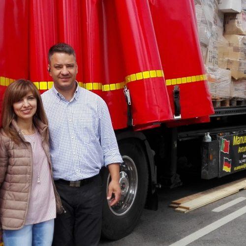 Emigrantes solidários deixam 45 toneladas de bens no concelho de Oliveira do Hospital