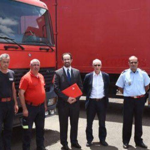 Correios de Portugal doam veículos a Bombeiros Voluntários de Oliveira do Hospital