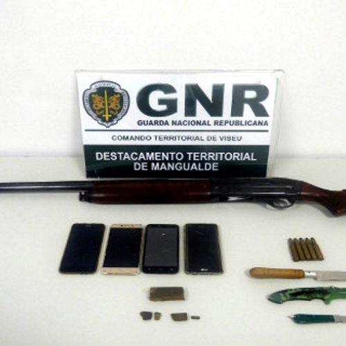 Dois homens e mulher detidos no Sátão por suspeita de tráfico de estupefacientes