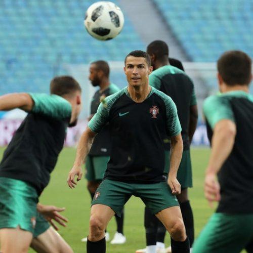 Portugal entra em campo no Mundial frente à Espanha