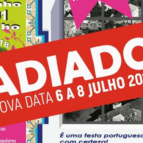 """""""Há Festa na Zona Histórica"""" adiado para fim de semana de 6 a 8 julho"""