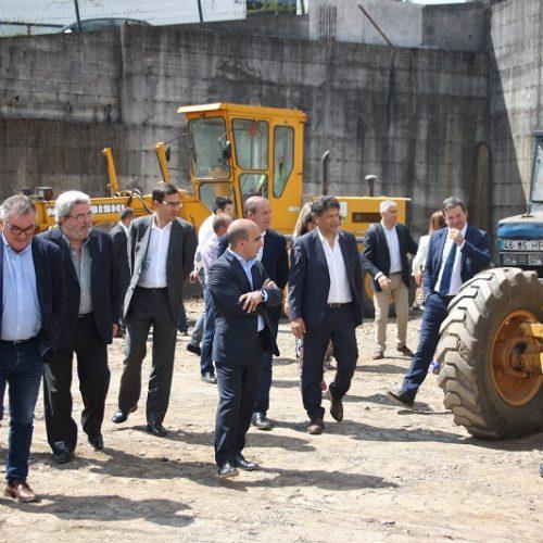 Secretário de Estado da Proteção Civil visitou Parque de Máquinas da ADESA