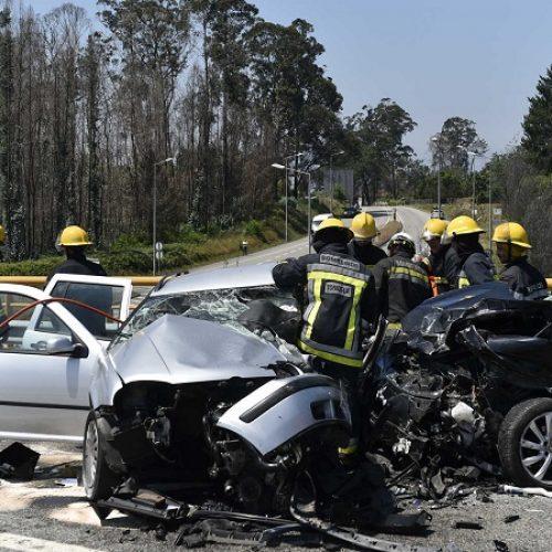 Acidente provoca dois mortos e quatro feridos no IP3 em Santa Comba Dão