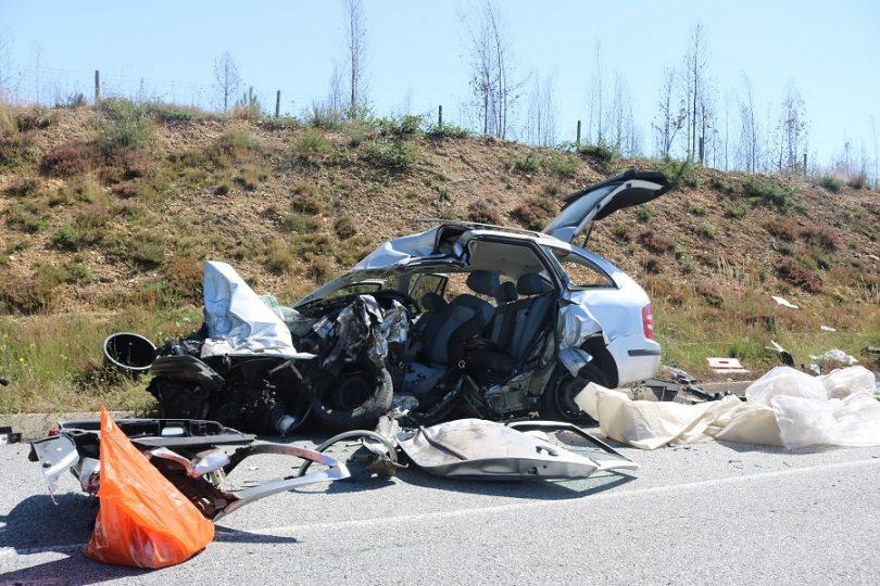 Jovem de Oliveira do Hospital entre as duas vítimas mortais do acidente em Tábua