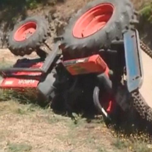 Despiste com trator agrícola faz um morto em Alvoco das Várzeas