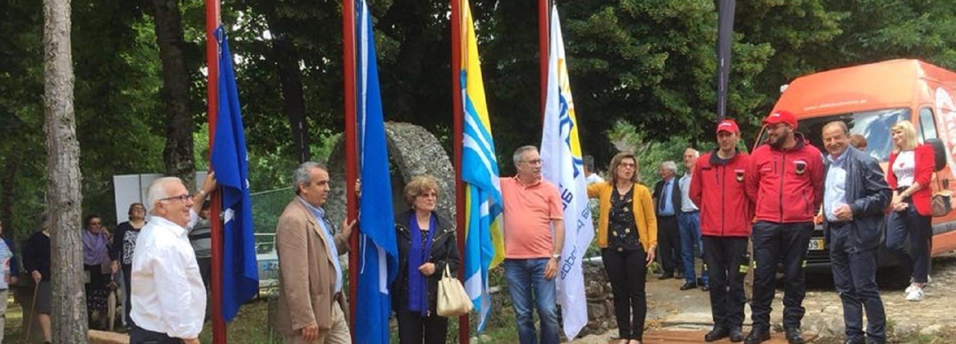 Alvoco das Várzeas volta a hastear Bandeira Azul, Qualidade de Ouro e Praia Acessível