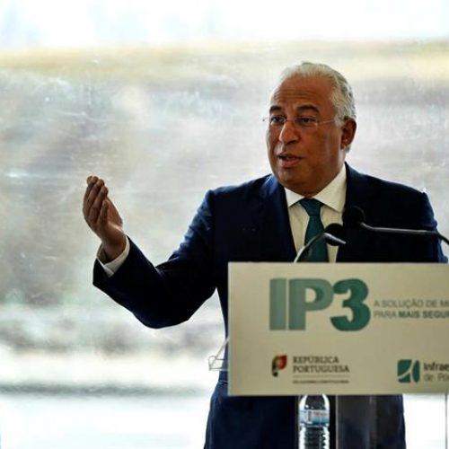 António Costa lançou requalificação do IP3