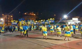 Marchas do Sarzedo e de S. Martinho abrilhantaram ruas de Arganil