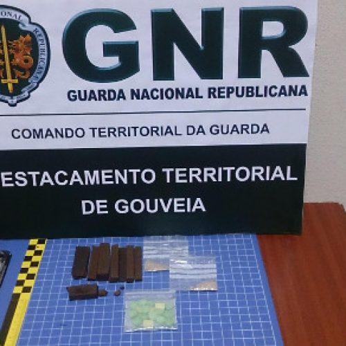Seia: Jovem detido pelo crime de tráfico de estupefacientes