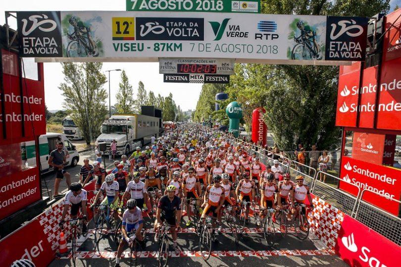 Etapa da Volta Via Verde RTP juntou 900 cicloturistas