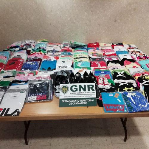 GNR apreendeu 365 artigos contrafeitos na Tocha