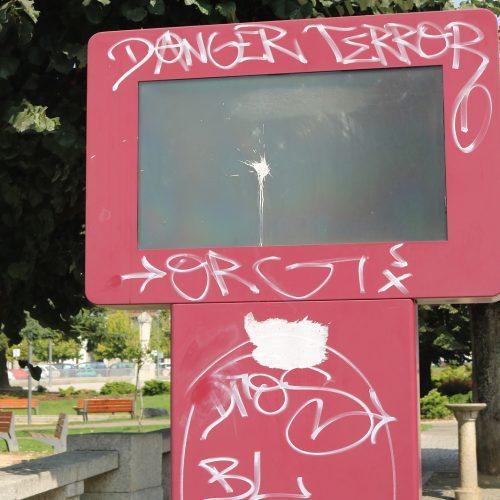José Carlos Alexandrino lamenta vandalismo na cidade e pede vigilância à GNR