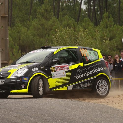 Filipe Abrantes motivado para 5º Constálica Rallye de Vouzela