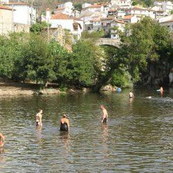 Calor extremo: Praias Fluviais do concelho servem de refúgio