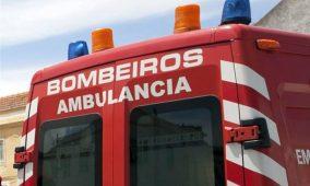Tondela: Colisão na Estrada Nacional 2 fez um ferido grave