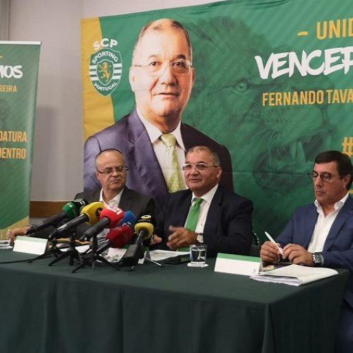 Fernando Tavares Pereira apresentou programa eleitoral à presidência do Sporting