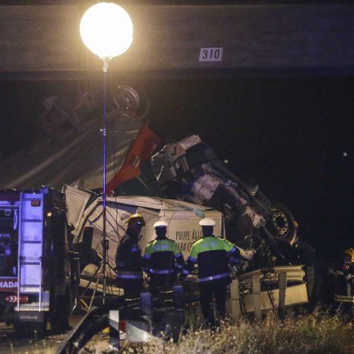 A1 reaberta pelas 7h00 após acidente na Mealhada