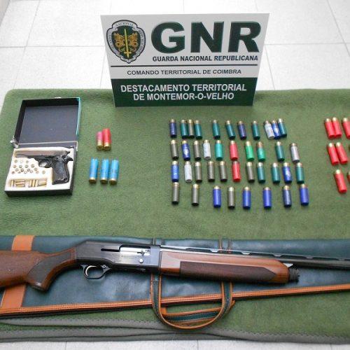 Figueira da Foz: Duas detenções por posse ilegal de arma