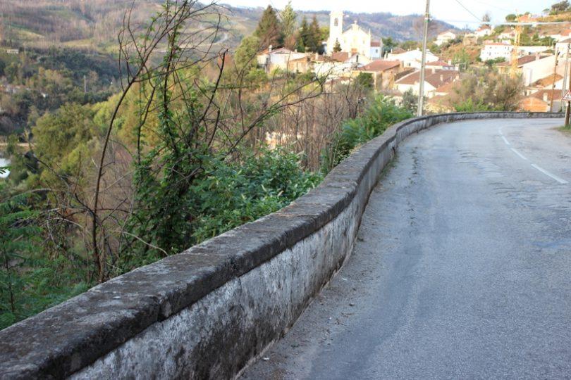 Arganil avança com estabilização do muro de suporte na EN 342, em Vila Cova de Alva