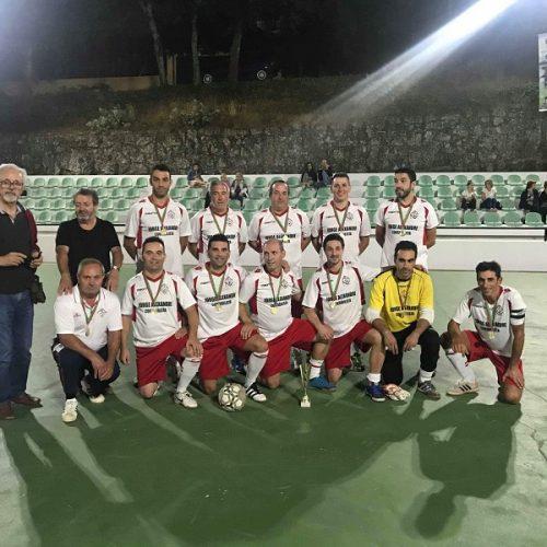 "Veteranos AD Nogueirense vencem torneio ""Veteranos Rapada Futsal Cup"""
