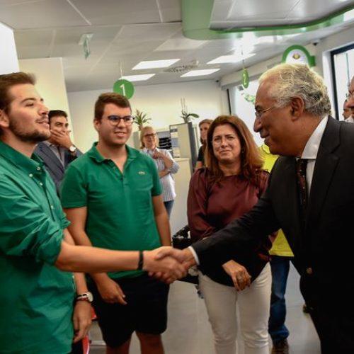 Nelas: Primeiro Ministro inaugurou loja do cidadão