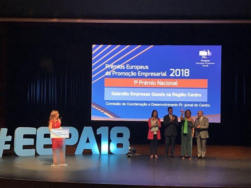 CCDRC vence Prémio Europeu de Promoção Empresarial com Empresas Gazela